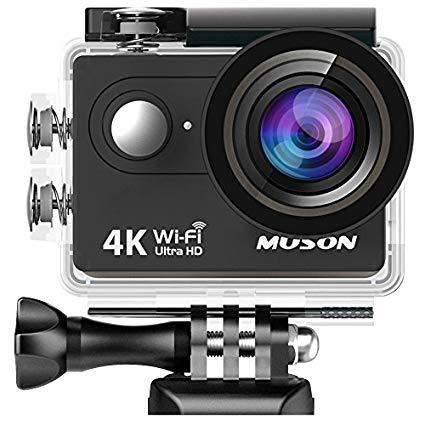 【格安】最新版 MUSON アクションカメラのアプリが「Ez iCam」じゃない件