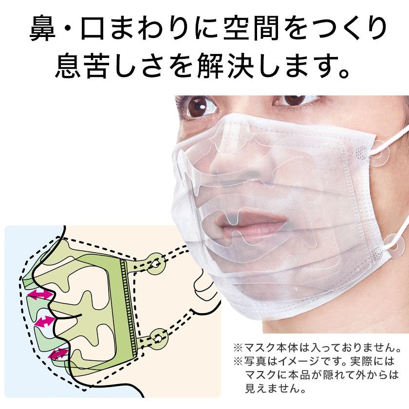 マスクスペーサーは、マスクを快適に使いたい人向けのアイデア商品!
