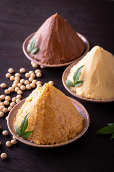 味噌の違い知っている?麦味噌、白味噌、赤味噌の特徴と調理方法