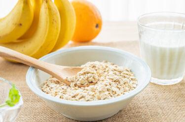 朝食をオートミールに切り替えて栄養満点